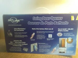 remote automatic door opener swing door opener Kitchener / Waterloo Kitchener Area image 1