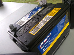 SOLD - ACDelco car battery $50 - Model 34PG with 750 CCA 120 RC