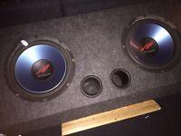 Subwoofer speaker no amp