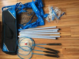 Volleyball and badminton - Sportcraft set brand new