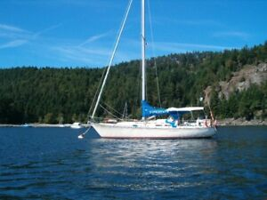 Classic 1974 C&C 35 Mark II sailboat