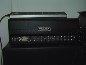 Roadster Dual Rectifier Mesa Boogie 100Watt Amp and 4X12 O/S Cab London Ontario image 8
