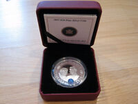 $20 Silver Coin: 2011 Prince William and Catherine Middleton
