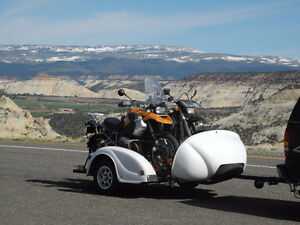 ATV,Motorcycle trailer with independent airbag suspension