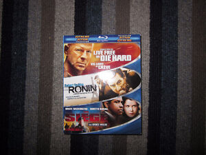 Action Collection Blu-ray (Live Free or Die Hard/Ronin/The Siege