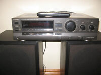Thechnics Receiver and Speakers