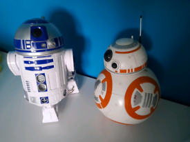 R2-D2 & BB8 Battery Operated Robots