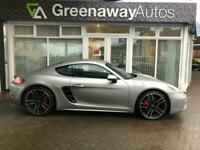 2017 Porsche 718 CAYMAN S STILL UNDER PORSCHE WARRANTY Coupe Petrol Manual