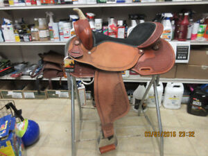 New Country Legend (Western Rawhide) 14, 15, 16in Barrel Saddles