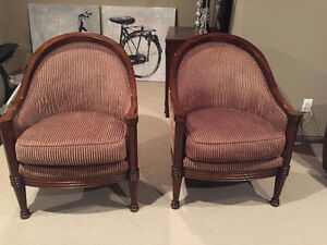 Designer Accent .Chairs both for $325