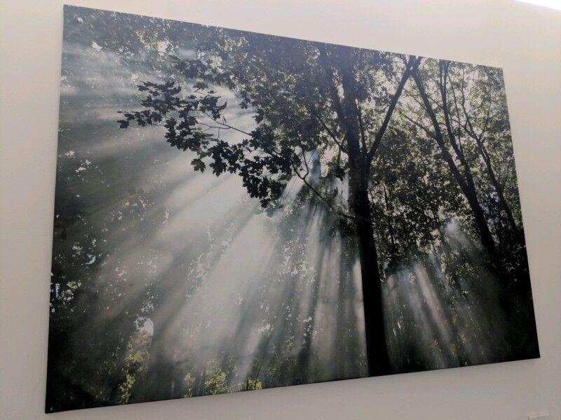 Ikea Bj 214 Rksta Beautiful Canvas Art Print 200 X 140