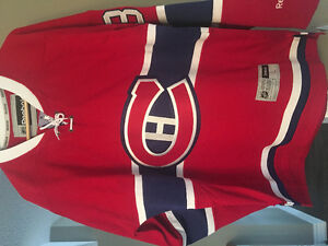 Signed Carey Price Jersey with COA