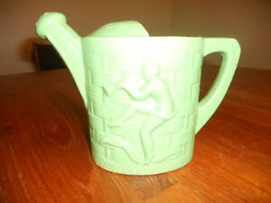 Vintage Pottery Dancing Piper Planter