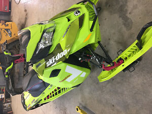 2015 Ski-doo Freeride Like New 669km warranty till Nov of 2018