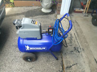 Michelin air compressor with cart