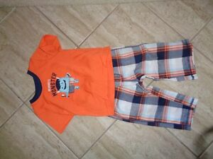 12 month: Mommy's little monster outfit
