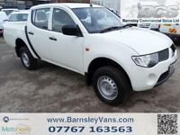 2009 59 MITSUBISHI L200 2.5 DiD 4WORK DOUBLE CAB EX COUNCIL