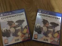 Overwatch Origins Edition Playstation 4 PS4 BRAND NEW SEALED