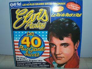 33 tours vinyle d'Elvis Presley (2 disques records, 40 succès) Saguenay Saguenay-Lac-Saint-Jean image 4