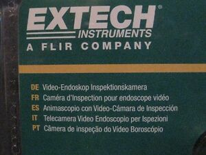 EXTECH BR80 VIDEO BORESCOPE INSPECTION CAMERA Windsor Region Ontario image 2