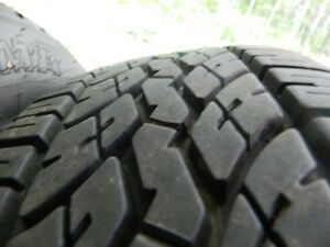 P215/70R16 Yokohama Tires on rims