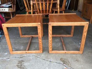 Matching Side Tables.