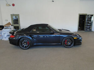 2009 PORSCHE 911 TURBO CONVERTIBLE! 61,000KMS! 1 OWNER! $95,900!