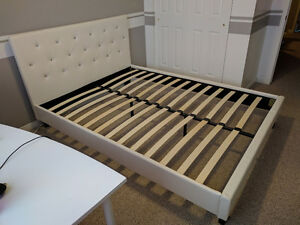 Brand New Upholstered Platform Bed Queen Size