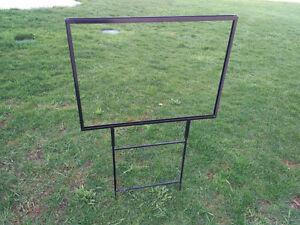 7 Real Estate metal sign frames