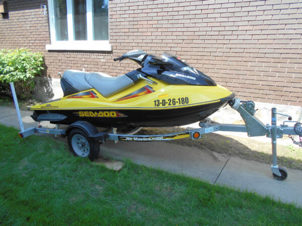Used 2004 Bombardier GTX 4TEC 185 SUPERCHARGED
