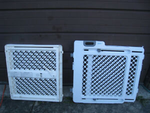 2 Used Baby Safety Gates for $20 and $25 in great condition
