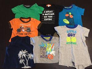 6 boy shirts
