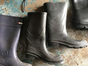 NEW RUBBER BOOTS SZ.4-7-8-10-12-14