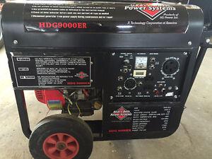 15 HP  9000 Watt Generator