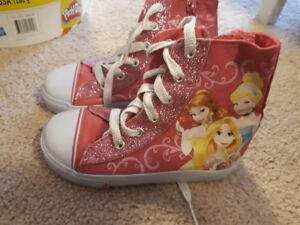 Size 9 Toddler Princess sneakers