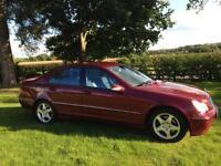 2002 02 Mercedes C270 CDi Avantgarde 170 bhp SAT NAV LEATHER DIESEL SALOON