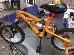 Youth's 2 wheeler with training wheels