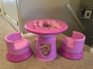 Rapunzel tower converts into table/chairs