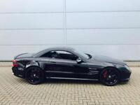 2003 Mercedes-Benz SL55 AMG 5.5 + LHD / LEFT HAND DRIVE - BLACK + BODYKIT
