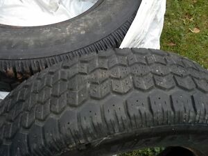 4 used Winter tires for sale Cornwall Ontario image 1