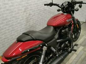 2017 (17) HARLEY DAVIDSON STREET XG 750 17 in stunning metallic red
