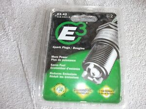 E3 spark plugs for small block Chevy's.