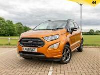 2018 Ford Ecosport 1.0T ECOBOOST 125 ST-LINE AUTO (S/S) 5DR SAT NAV CAMERA