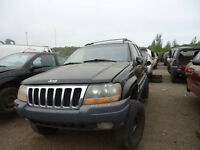 GRAND CHEROKEE 2000 DISPONIBLE POUR PIECES KENNY LAVAL