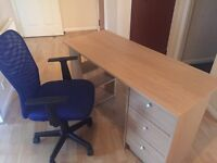 GREAT CONDITION OFFICE DESK AND CHAIR