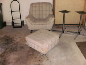 Free chair with ottoman!
