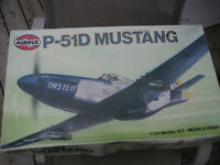 Airfix 1/24 P51 D Mustang. Mint in Box $75.00  Can Ship