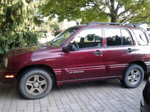 2003 Chevy Tracker, need gone asap