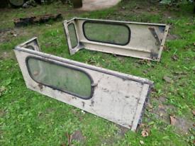 Land Rover Series 3 Hard top side windows.