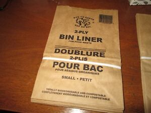 Kitchen bin liners for compostables (small) Kitchener / Waterloo Kitchener Area image 2